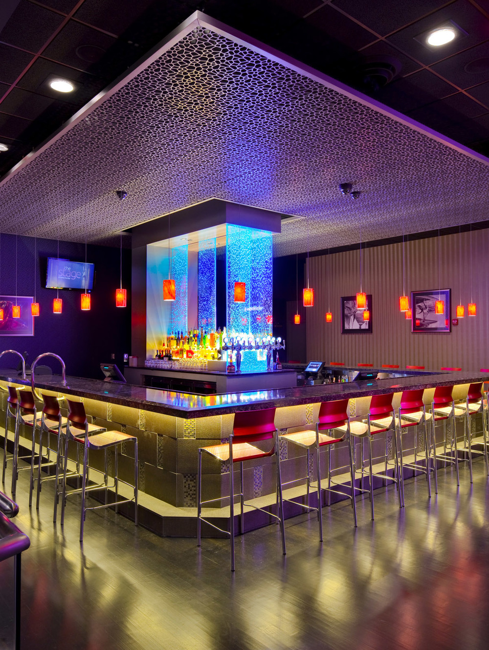 one of the bars at The Stage @ Santa Ana Star - learn more about the project here